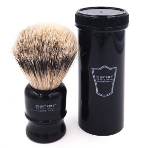 Accessories;Travel;Shaving Brushes/Silvertip Badger