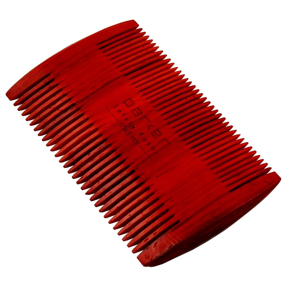 Brdcmb2 Rosewood Double Sided Beard Comb Parker Shaving